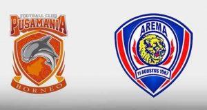 Live Streaming Arema FC vs Pusamania Borneo FC