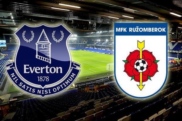 Live Streaming Everton vs Ruzomberok