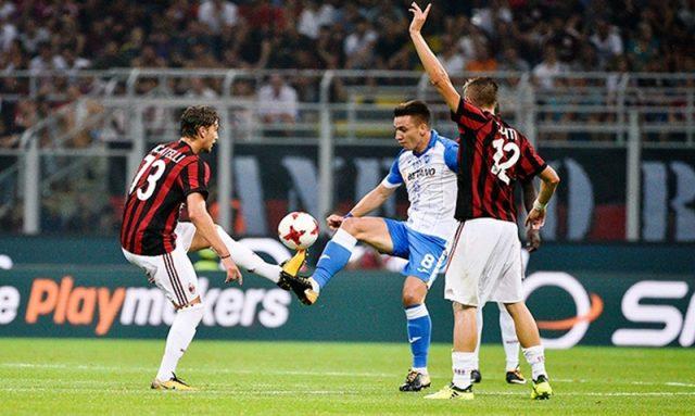 Live Streaming AC Milan vs Shkendija