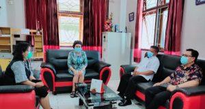 Pertemuan Wawali Kotamobagu dengan Ketua Sinode GMIBM
