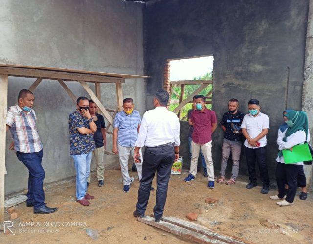 Komisi III DPRD Bolmut melakukan peninjauan proyek PCS 119