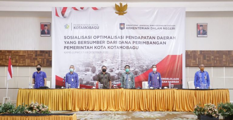 Sosialisasi Optimaliasi Pendapatan Daerah