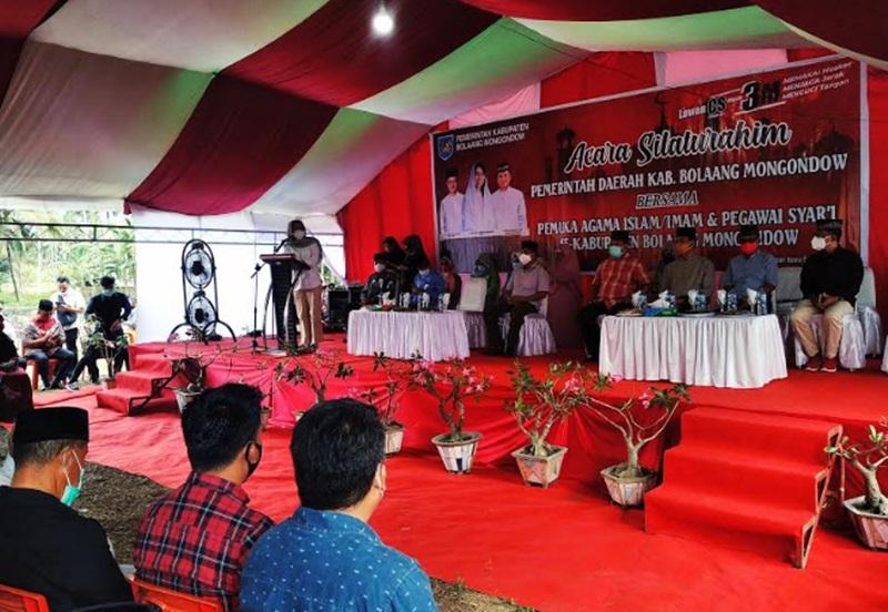 Sambutan Bupati Bolmong pada acara silaturahim Pemkab Bolmong bersama pemuka agama se Bolmong