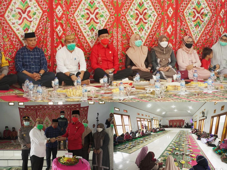 Doa Tasyakuran dalam rangka memperingati Hari Ulang Tahun (HUT) ke-18 Kecamatan Posigadan.