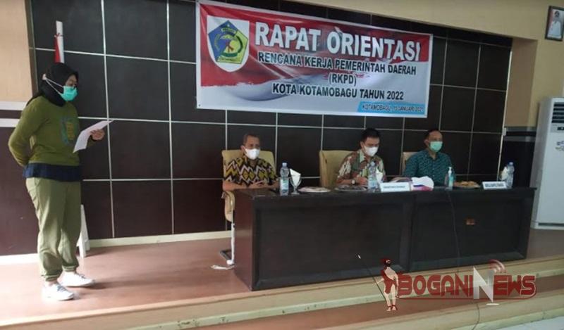 Rapat Orientasi Penyusunan RKPD Kotamobagu