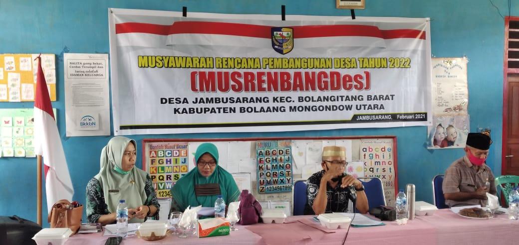 Desa Jamusarang Gelar Musrenbang Tahun 2022