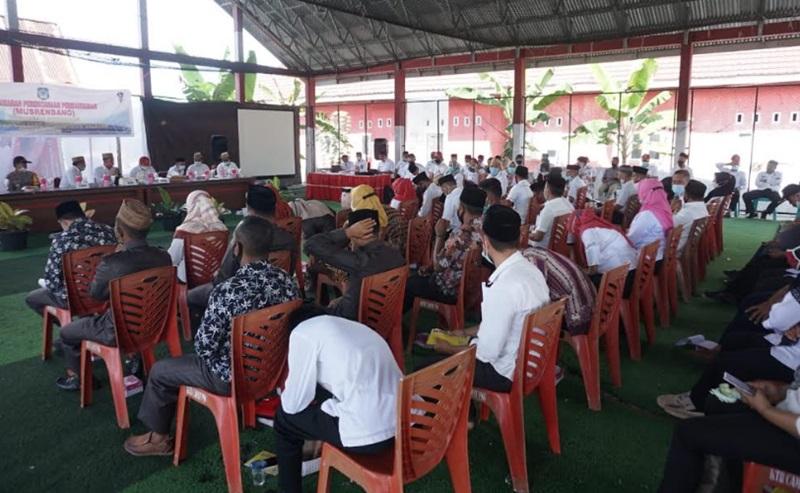 Bupati Bolsel Hadiri Musrenbang Kecamatan Posigadan