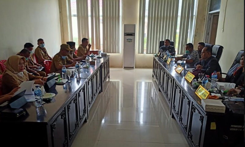 Komisi I DPRD Bolmut Gelar RDP Bersama Tiga OPD
