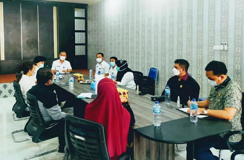 Terima Kunjungan Komisi I DPRD Sulut, Ini Harapan Asisten I Pemkot Kotamobagu