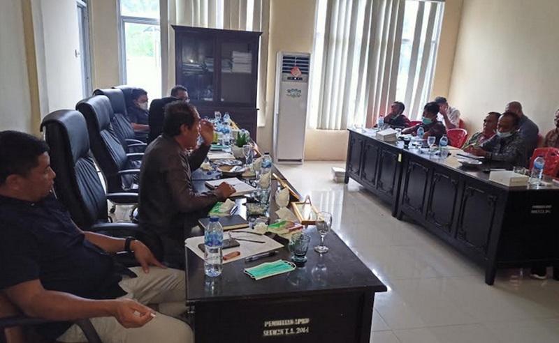 Komisi II DPRD Bolmut, Gelar RDP Bersama Dinas Pertanian