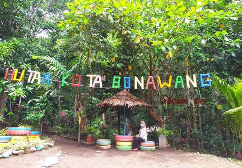 Melihat Atusias Pengunjung, Hutan Kota Bonawang akan Dibuatkan Fasilitas Ini