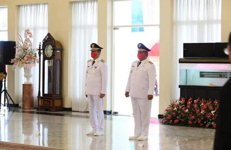 Iskandar-Deddy Dilatik Bupati dan Wakil Bupati Periode 2021-2024
