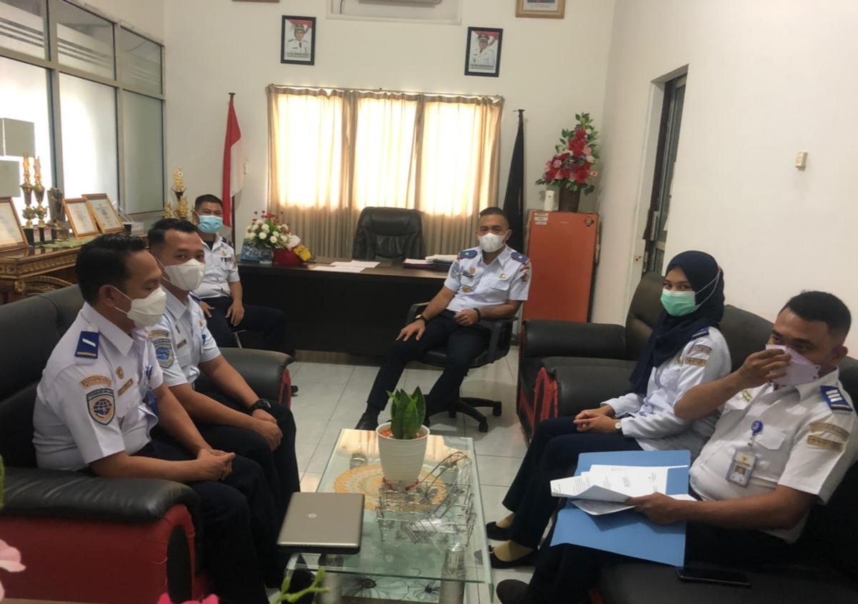 Dishub Kotamobagu Terima Kunjungan BPTD Perwakilan Wilayah XXII Sulut