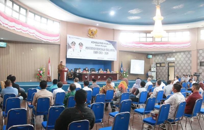 Wabup Boltim Buka Konsultasi Publik RPJMD Tahun 2021 - 2026