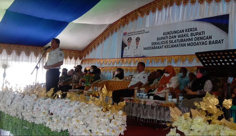 Kunker di Kecamatan Modayag Barat dan Modayag Induk, Sachrul-Oskar Teringat Saat Kampanye