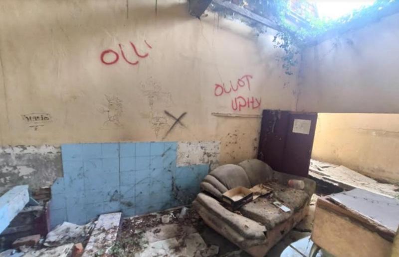 Asrama Mahasiswa Bolmut di Kota Palu Rusak Parah