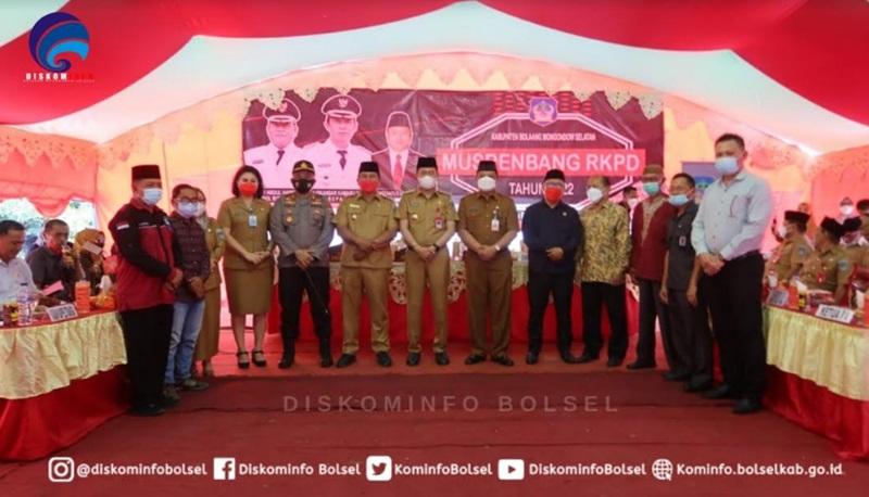 Bupati Bolsel Buka Musrenbang Kabupaten