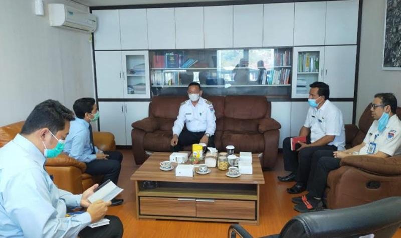 Wabup Boltim Kunjungi Kantor KPKNL Manado
