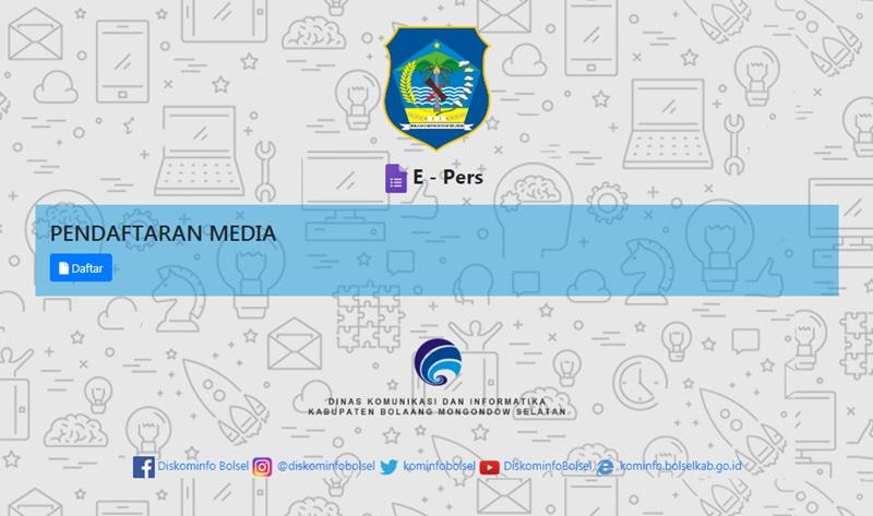 Aplikasi e-Pers Milik Kominfo Bolsel