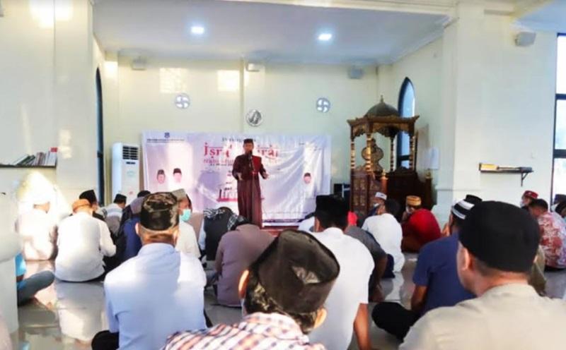 Pemkab Bolsel Peringati Isra Mi'raj 1442 Hijriyah