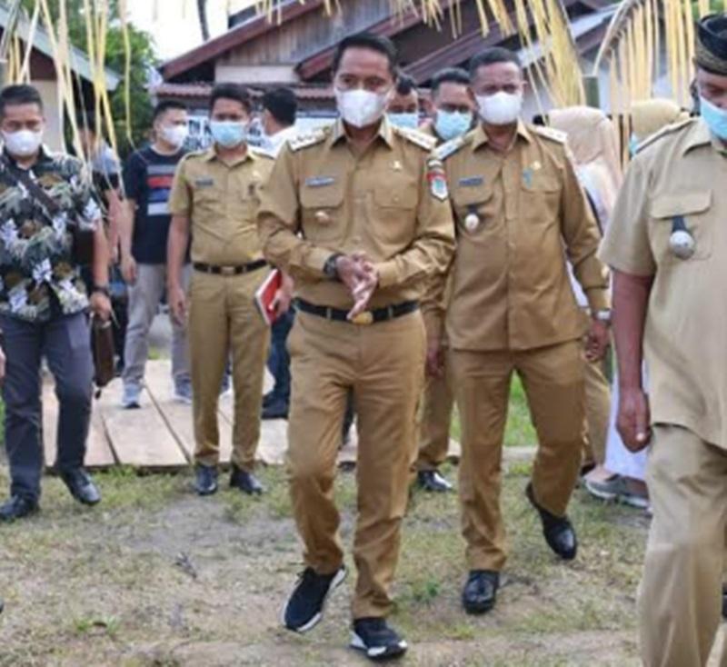 Usai Rapat Bersama DPRD, Bupati dan Wakil Bupati Boltim Kunker dan Silaturahmi di Dua Kecamatan