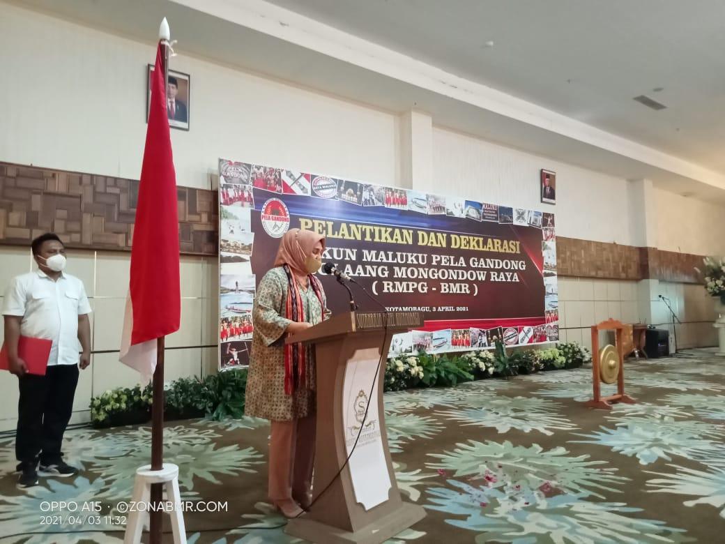 Hadiri Pelantikan & Deklarasi RMPG-BMR, Ini Harapan Wali Kota