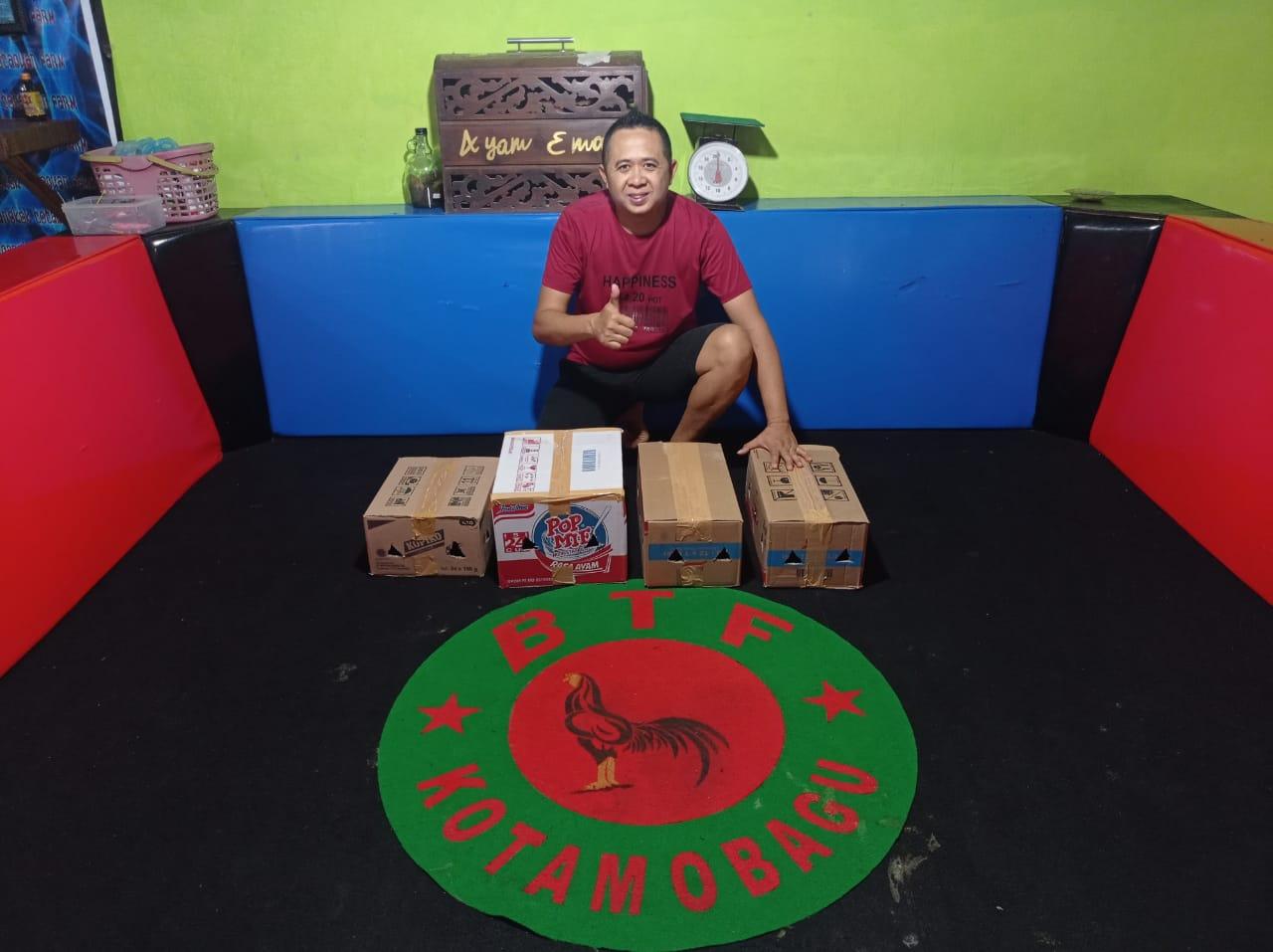 BTF Kotamobagu Expor Ayam Tarung ke Philipina