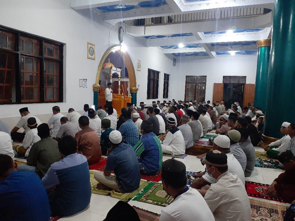 Bupati Boltim Pimpin Safari Ramadhan di Masjid Baitul Rahman