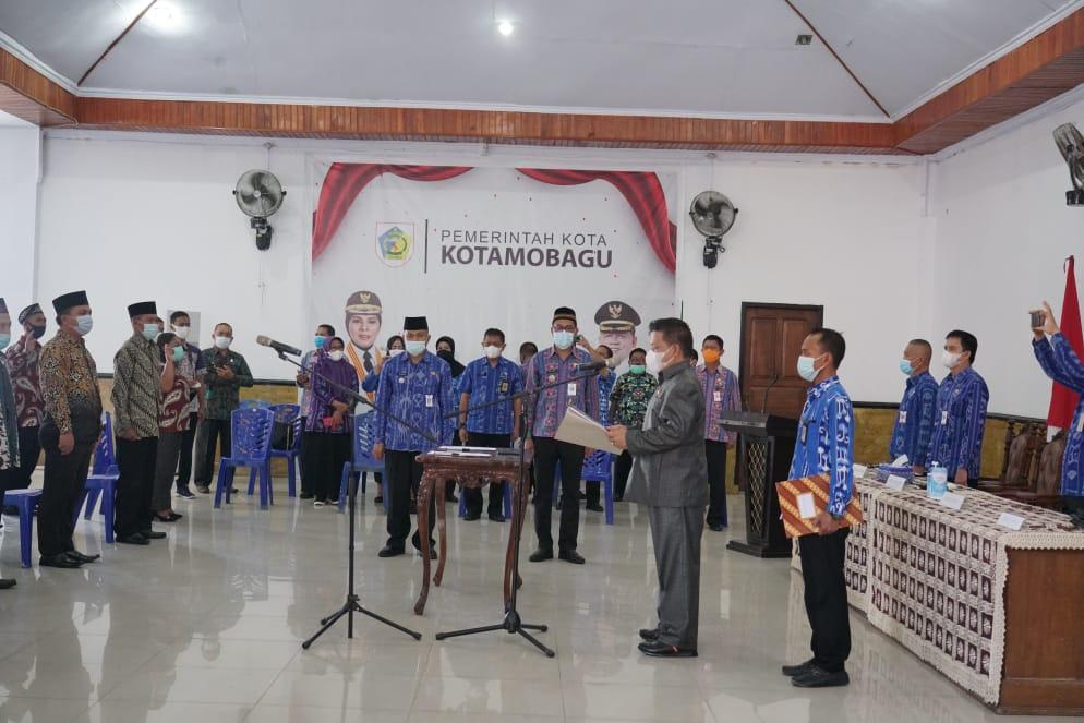 69 Anggota BPD di Dua Kecamatan Kotamobagu Resmi Dilantik
