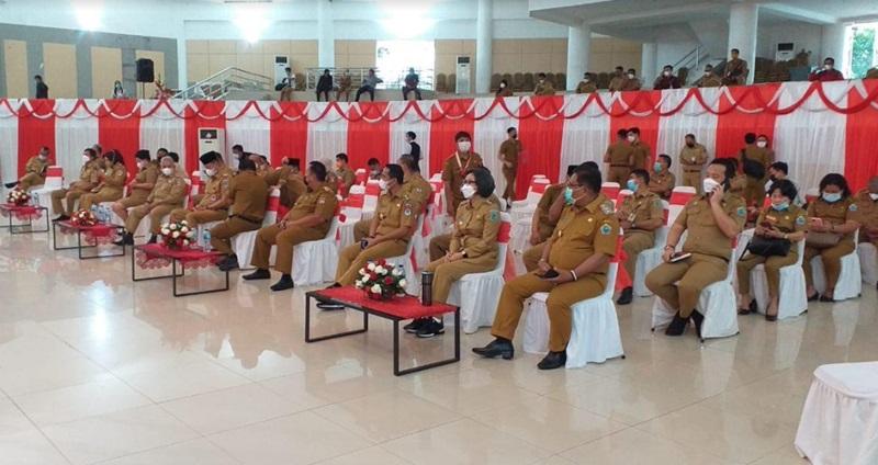 Bupati Bolmong Hadiri Sosialisasi Penerapan Manajemen Kinerja ASN di Sulut