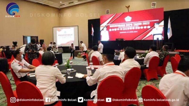 Bupati Bolsel Hadiri Musrenbang RKPD Provinsi Tahun 2020