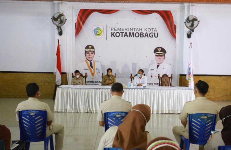 Wali Kota Kotamobagu Terima Kunjungan Kepala BPKP Sulut