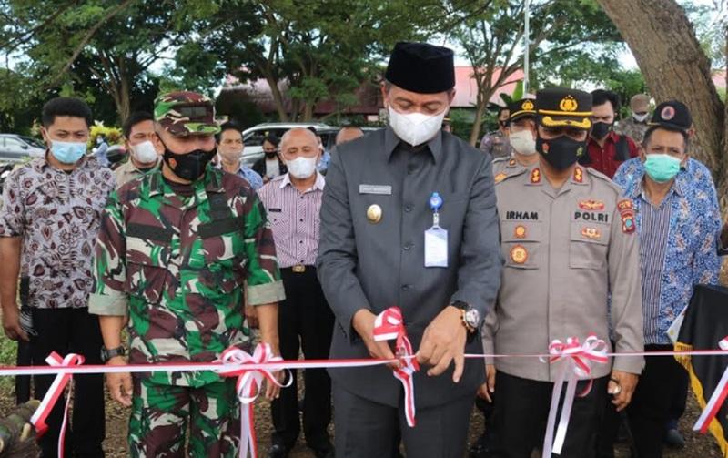 Wabup Boltim dan Kapolres Launching KTN di Kecamatan Tutuyan