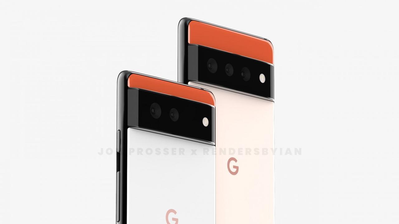 Intip! Wujud Google Pixel 6 dan Pixel 6 Pro