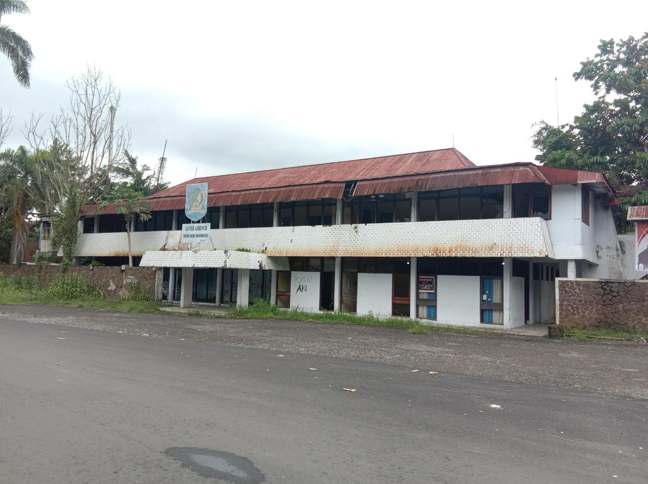 Eks Kantor Bupati Bolmong Mulai Direhab