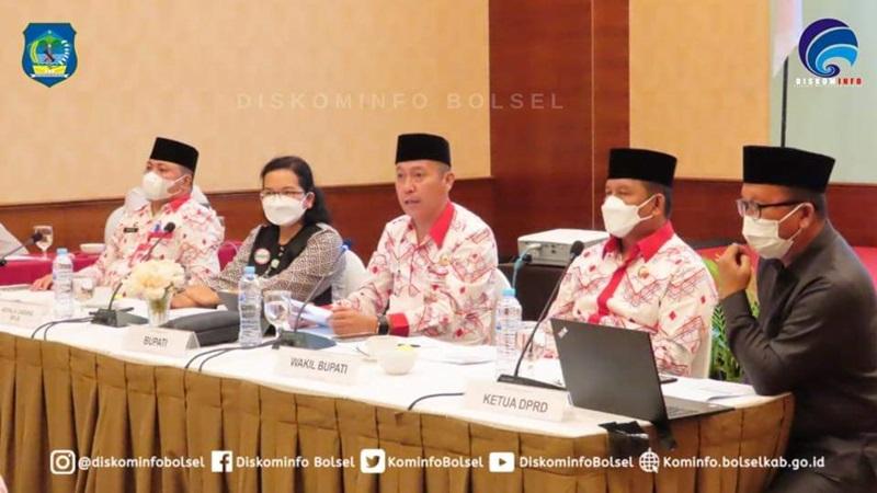 Pemkab Bolsel Gelar Rakor Bersama BPJS Kesehatan Cabang Tondano