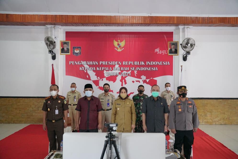 Wali Kota Kotamobagu Hadiri Rakor Bersama Presiden Joko Widodo