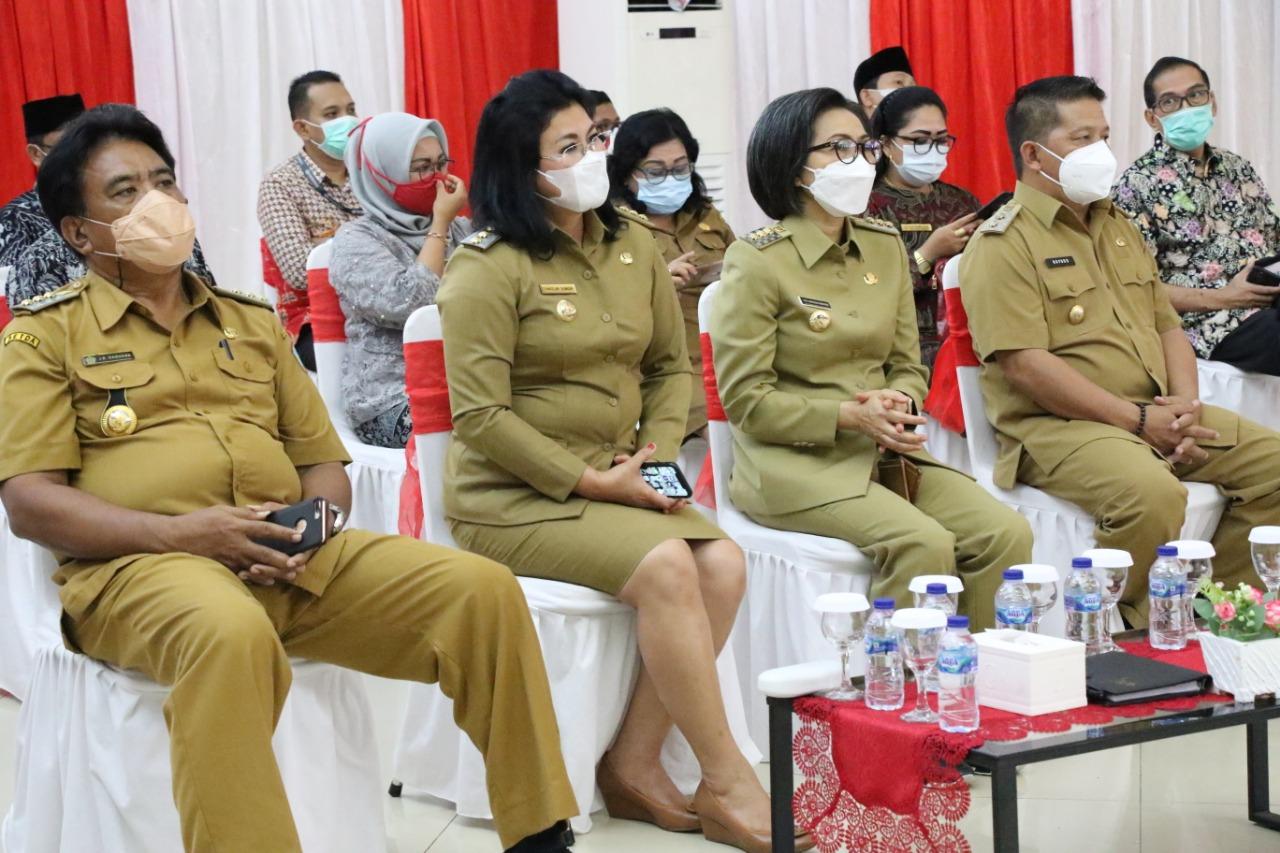 Wakili Wali Kota, Nayodo Hadiri Rakor Evaluasi dan Penyampaian Hasil Akhir Pilkada 2020