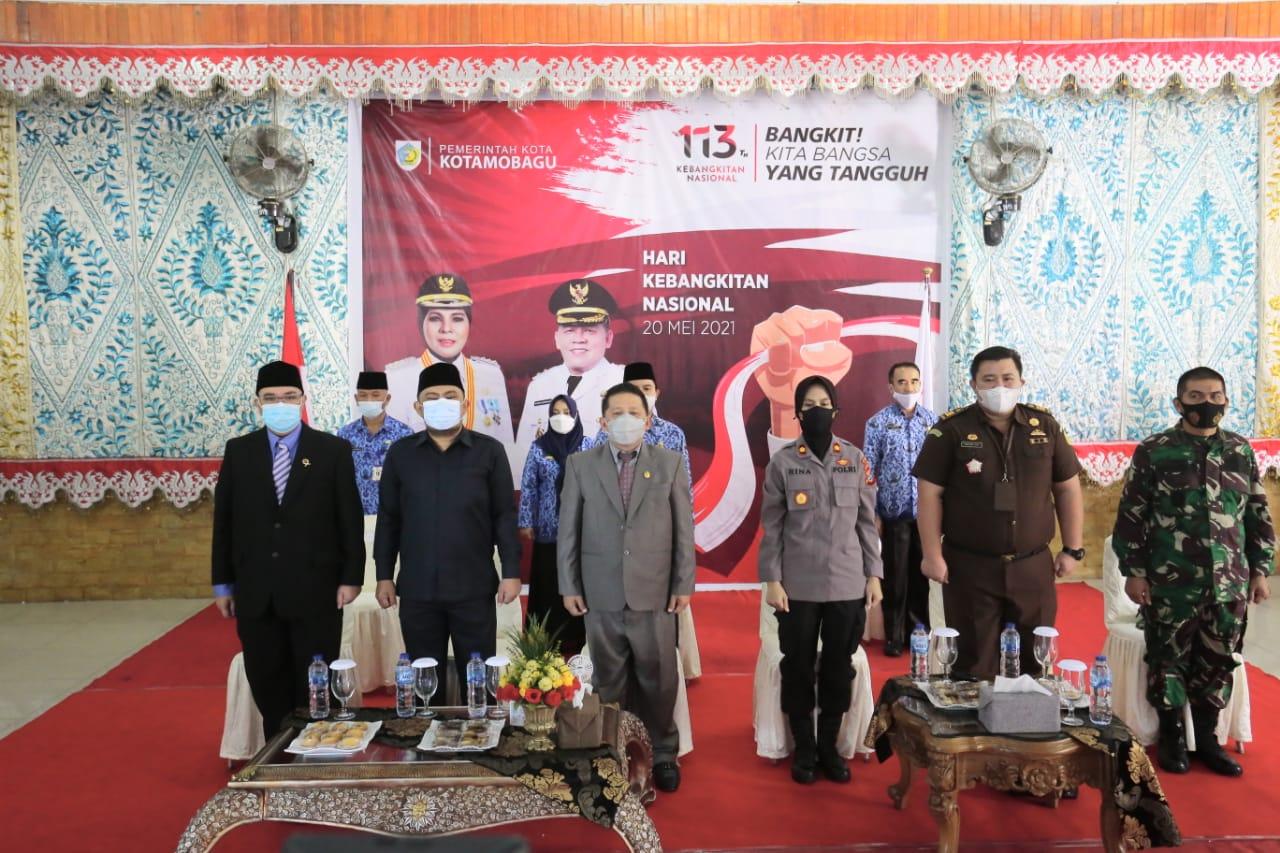 Forkopimda Kotamobagu Hadiri Upacara HKN ke-113 Tahun