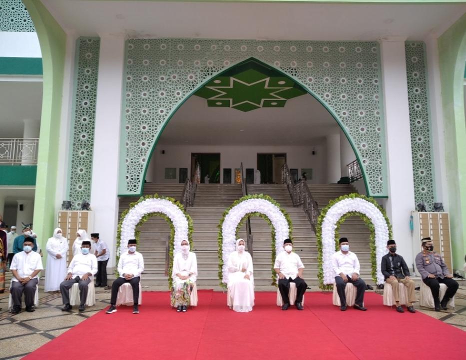 Hadiri Peresmian MABM, Sachrul Punya Niat Bagun Masjid Agung di Boltim