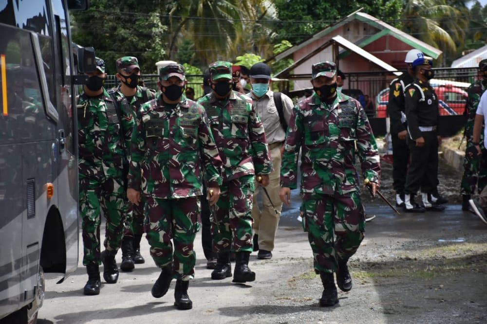 Pangdam XIII/Merdeka Tinjau Kesiapan Kunker Panglima TNI dan Kapolri