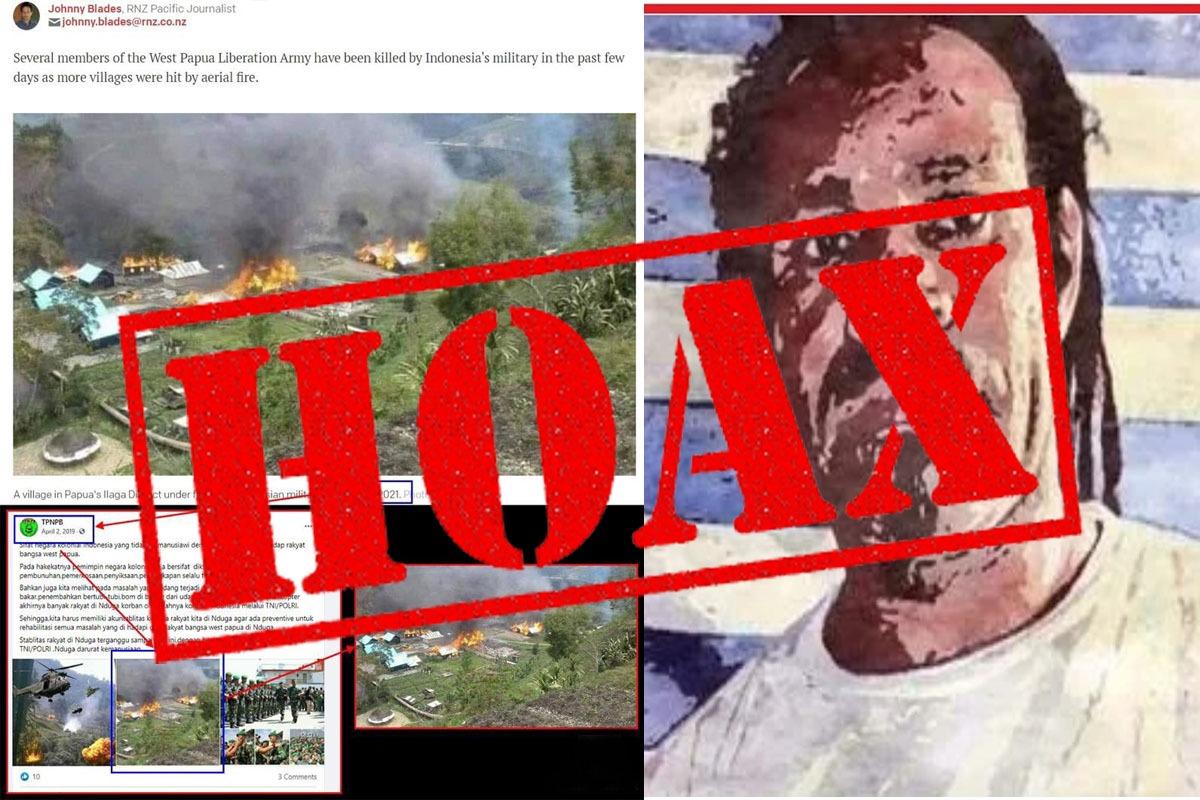 Kepala Suku di Paluga, Bantah Tidak Ada Aksi Pembakaran di Wilayahnya