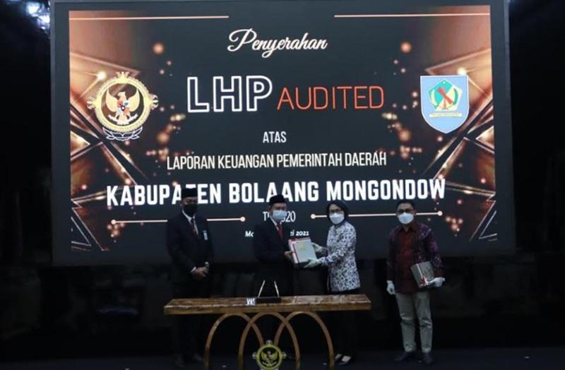 Yasti Sukses Bawa Pemkab Bolmong Raih Predikat WTP dari BPK-RI