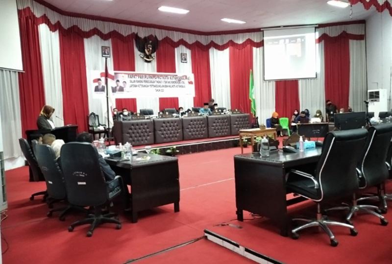 DPRD Kotamobagu Gelar Paripurna Pembicaraan Tingkat II LKPJ Wali Kota