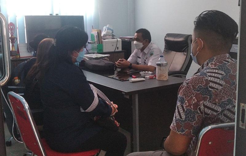 Kominfo Bolmong Dikunjungi Tim Peneliti Digital Skill ASN
