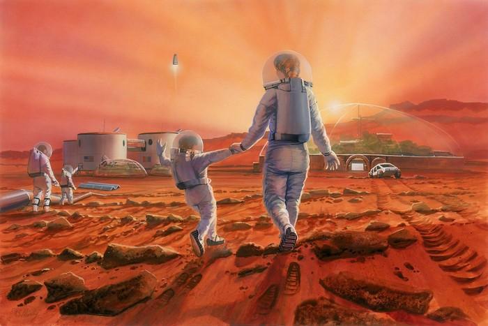 Berdasarkan Temuan Ilmuan, Manusia Bisa Punya Keturunan di Mars