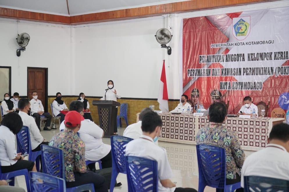 Tatong Harap Pokja-PKP Lahirkan Langkah Taktis Jadikan Kota Tetap Segar