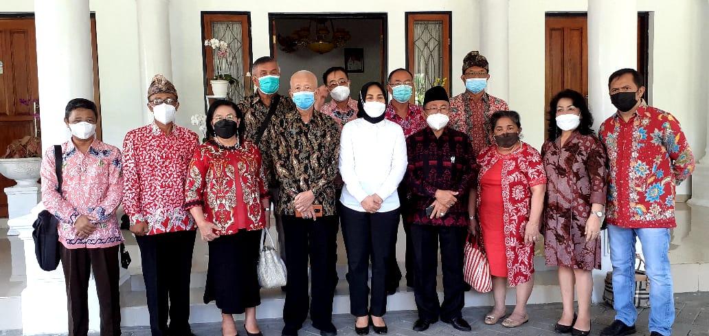 Wali Kota Kotamobagu Terima Kunjungan BKSAUA Sulut