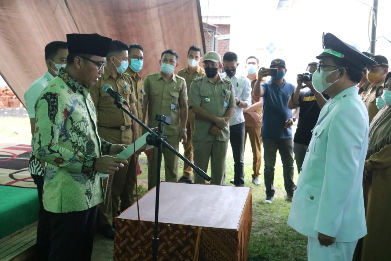 Sachrul Harap Penjabat Sangadi Buyat II Kerja Sama Memajukan Desa