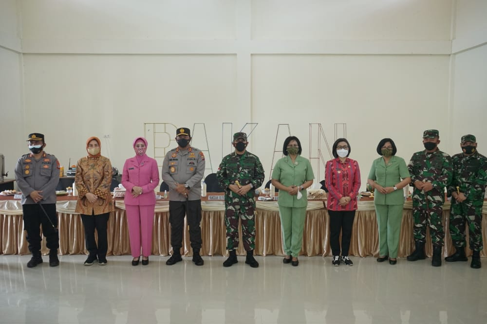 Bupati Bolmong Sambut Pangdam XIII/Merdeka Bersama Kapolda Sulut